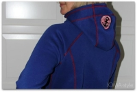 Lady COMET Hoodie Farbenmix Schnittmuster