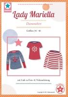 Lady Mariella U-Boot Shirt Farbenmix Schnittmuster