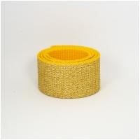 Polygurtband, 32mm (1,25 inch), glitter gold