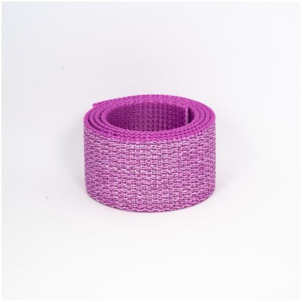 Polygurtband, 32mm (1,25 inch), glitter pink