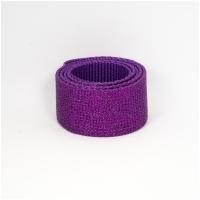 Polygurtband, 32mm (1,25 inch), glitter violett