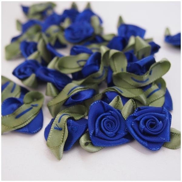 Satin Rose royalblau