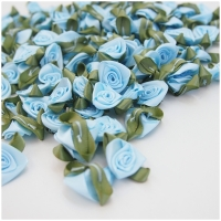 Satin Rose hellblau