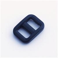 Versteller, doppelt für 10mm Band, schwarz