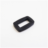 Versteller einfach, schwarz, für 15mm Band