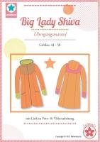 Big Lady Shiva Plus-Size Mantel Farbenmix Schnittmuster