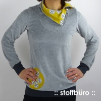 Lady Serena Pullover Farbenmix Schnittmuster