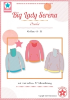 Big Lady Serena Pullover Farbenmix Schnittmuster
