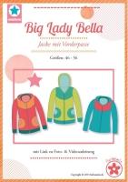Big Lady Bella Sweatjacke Farbenmix Schnittmuster