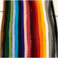 Polyester Rundkordel 4mm Tiefrot