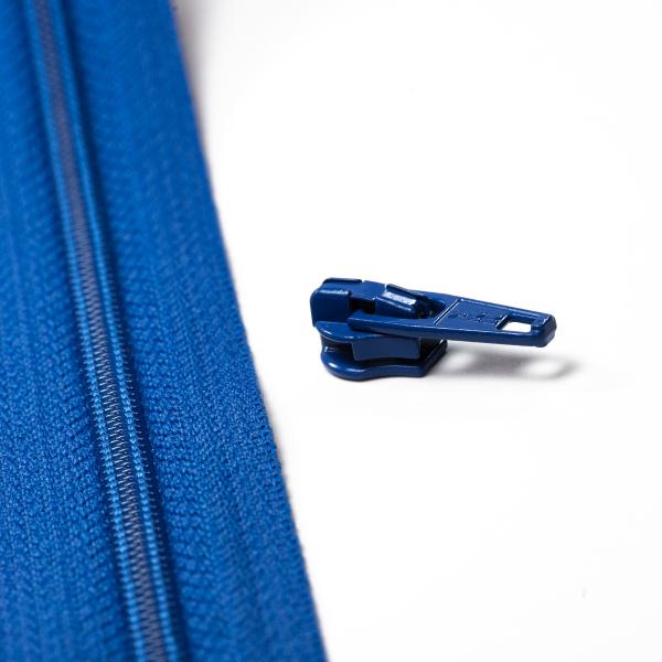 4mm Reissverschluss Schieber, blau