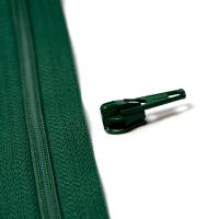 4mm Reissverschluss Schieber, tannengrün