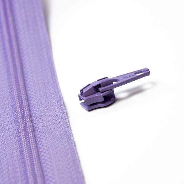 4mm Reissverschluss Schieber, lavendel