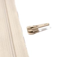 4mm Reissverschluss Schieber, beige