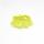 Elastische Vichy Rüsche Lime