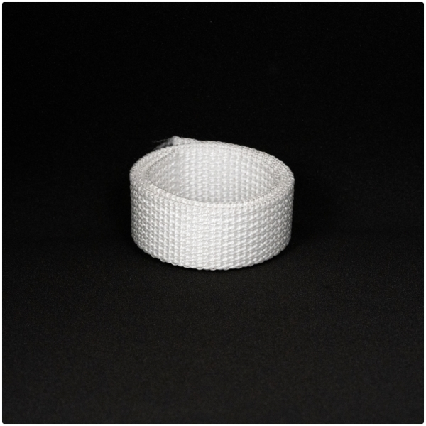 Poly Gurtband 20mm Weiss