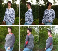 Big Lady Pepe Plus-Size Shirt Farbenmix Schnittmuster