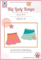 Big Lady Kenya Jerseyrock Farbenmix Schnittmuster
