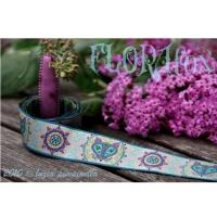 Farbenmix Webband Flora Fox