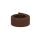 weiches Baumwollgurtband 2,54cm (1 inch), braun
