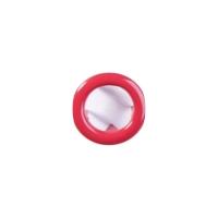 Jersey Druckknopf ring 20 Stk. rot