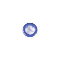 Jersey Druckknopf ring 20 Stk. royalblau