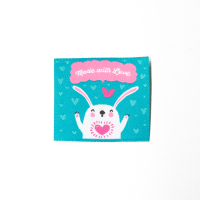 Webetikette Made With Love Hasi Aqua