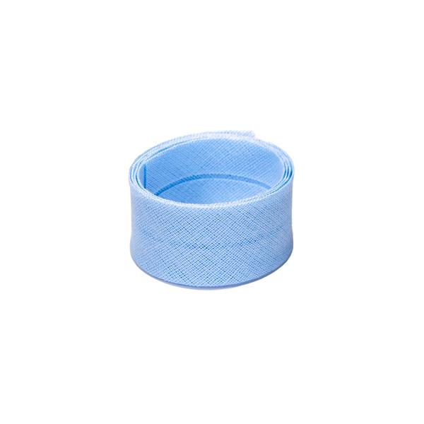 Schrägband, uni hellblau