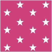 Baumwollpopeline Maxisterne pink