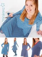 Jersey Kleid Minikrea Schnittmuster