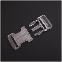 Steckverschluss transparent 25mm