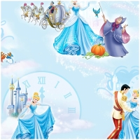 Baumwolle Disney Cinderella the Ball