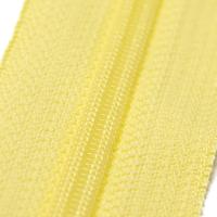 4mm Reissverschluss, hellgelb