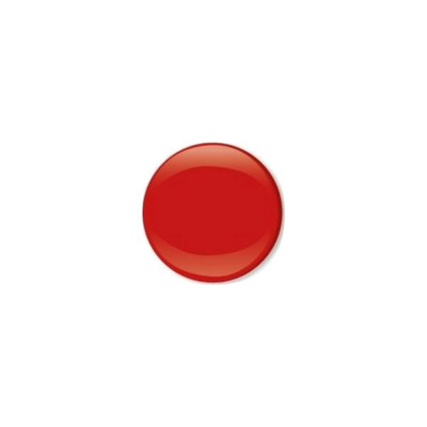 Jersey Druckknopf geschlossen 20 Stk. rot