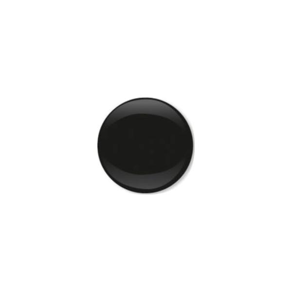 Jersey Druckknopf geschlossen 20 Stk. schwarz