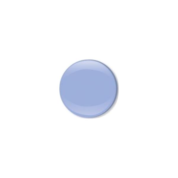 Jersey Druckknopf geschlossen 20 Stk. hellblau