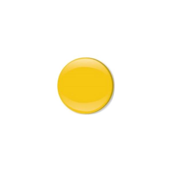 Jersey Druckknopf geschlossen 20 Stk. gelb