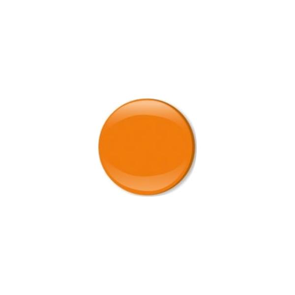 Jersey Druckknopf geschlossen 20 Stk. orange