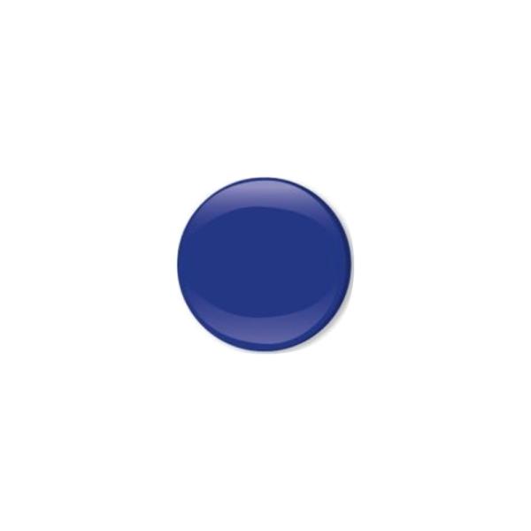 Jersey Druckknopf geschlossen 20 Stk. royalblau