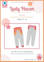 Lady Haven Sweathose Farbenmix Schnittmuster