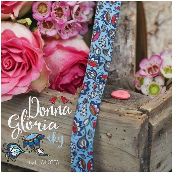 Farbenmix Webband Donna Gloria Sky