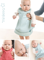 Trägerrock für Babies Minikrea Schnittmuster