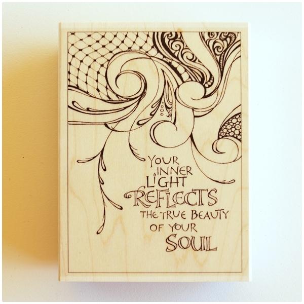 Zenspirations Holzstempel - Your Inner Light
