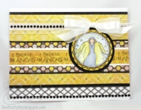 Clear Stamp Stempel - I Believe in Angels