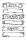 Clear Stamp Stempel - Scrolls