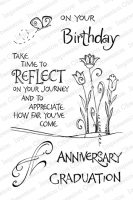 Clear Stamp Stempel - On Your Birthday