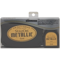 Stempelkissen StazOn Metallic Gold