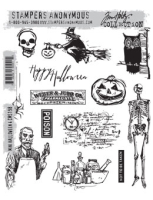 Tim Holtz Stempel - Mini Halloween