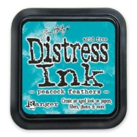 Distress Ink Stempelkissen - Peacock Feathers