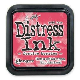 Distress Ink Stempelkissen - Festive Berries